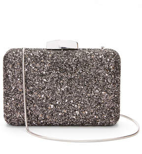 Express glitter box clutch