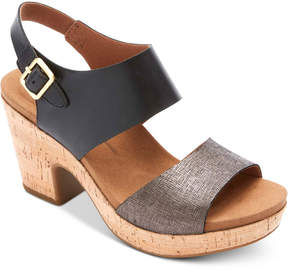 Rockport Vivianne Wedge Sandals Women's Shoes