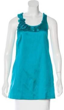 Calypso Silk Sleeveless Top