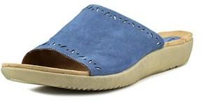Earth Origins Valorie Women Us 7.5 Blue Slides Sandal.