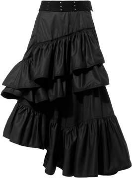 3.1 Phillip Lim Flamenco Ruffle Skirt