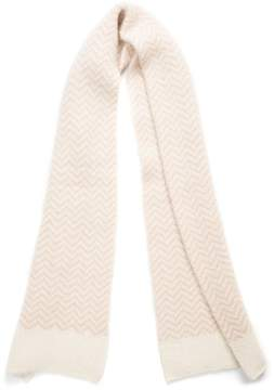 Vince Camuto Chevron Brushed Scarf