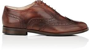 Barneys New York WOMEN'S LEATHER WINGTIP OXFORDS