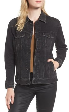 AG Jeans Women's Nancy Distressed Denim Jacket