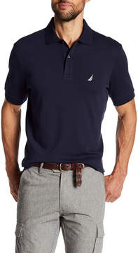 Nautica Short Sleeve Solid Polo