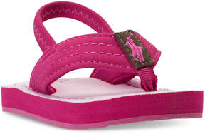 Polo Ralph Lauren Toddler Girls' Theo Flip-Flop Sandals from Finish Line