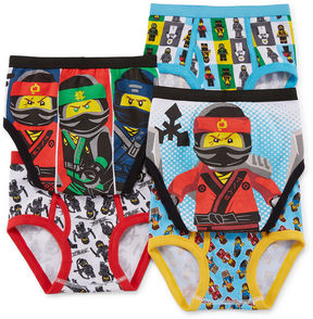 Lego Ninjago 5 PK Briefs-Big Kid Boys