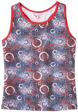 Jacques Moret Girls 4-14 Gym Champ Tank Top