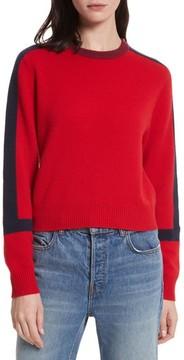 Allude Women's Bold Stripe Cashmere Sweater