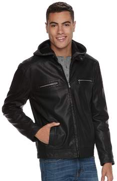 Rock & Republic Men's Faux-Leather Jacket