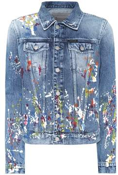 Calvin Klein Jeans Paint splatter denim jacket