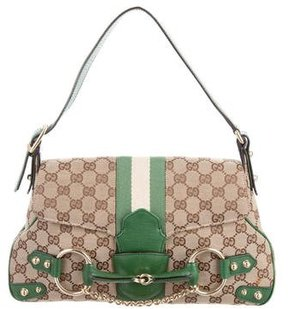 Gucci GG Horsebit Hobo - BROWN - STYLE