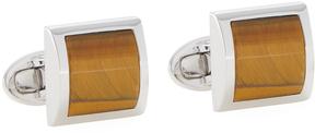Jan Leslie Men's Curved Square Cufflinks