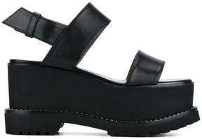Givenchy open toe platform sandals