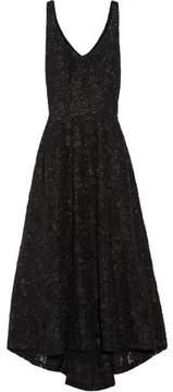 Co Asymmetric Lace Gown