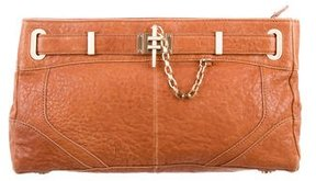 Rachel Zoe Pebbled Leather Clutch