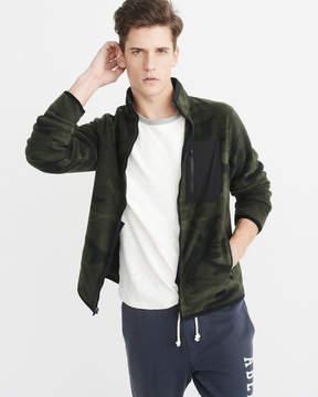 Abercrombie & Fitch Zip-Up Trail Fleece Jacket