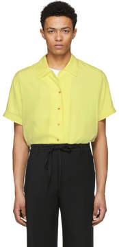 Acne Studios Yellow Rellah Bowling Shirt