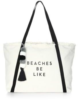 Milly Beach Cotton Tote Bag