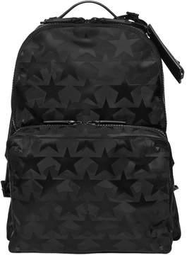 Camustars Nylon Jacquard Backpack