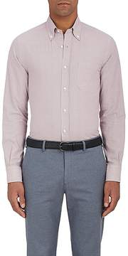 Loro Piana Men's Alfred Checked Cotton Shirt