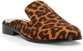 1 STATE Facia Leopard Faux Fur Mules