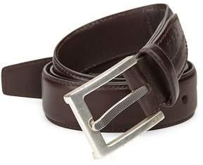 John Varvatos Men's Leather Dress Belt