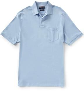 Roundtree & Yorke Supima Short Sleeve Solid Pocket Polo