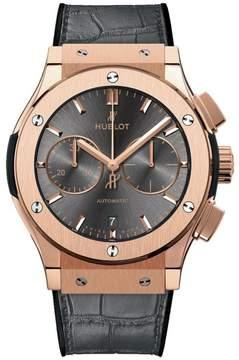 Hublot Classic Fusion 511.ox.7081.lr 18K Rose Gold Automatic 45mm Mens Watch