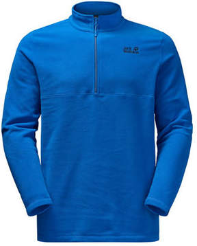 Jack Wolfskin Men's Gecko 1/4-Zip Fleece Pullover