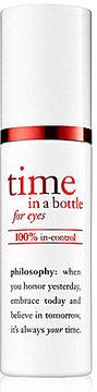 Philosophy Time In A Bottle Eye Serum In Control Eye Serum