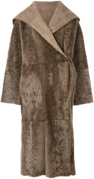 Agnona reversible coat