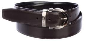 Salvatore Ferragamo Gancio Reversible Leather Belt