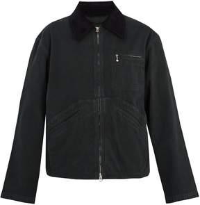 Acne Studios Marlon point-collar cotton jacket