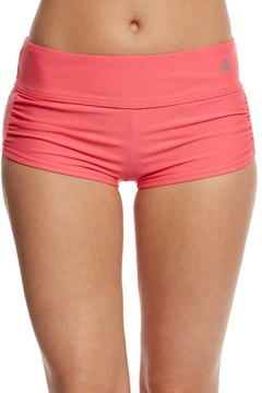 adidas Women's Solid Start Shirred Swim Short 8151391