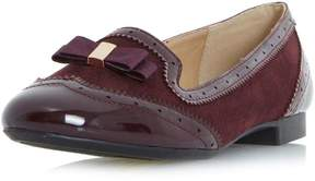 Head Over Heels *Head Over Heels by Dune Burgundy 'Graicee' Loafers