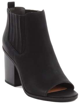 BC Footwear On Cloud Nine Vegan Peep Toe Bootie