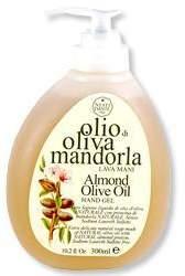 Almond Olive Oil Hand Gel Liquid Soap by Nesti Dante (10.2oz Liquid Soap)