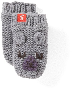 Joules Baby Boys 6-24 Months Bear Mittens