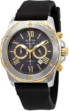 Bulova Marine Star Chronograph Grey Dial Men's Watch
