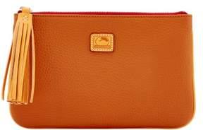 Dooney & Bourke Patterson Leather Carrington Pouch - DESERT - STYLE