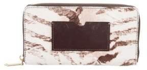 Reed Krakoff Ponyhair Zip Wallet