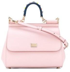 Dolce & Gabbana Dolce E Gabbana Women's Pink Leather Handbag. - PINK - STYLE