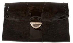 Louis Vuitton Epi Electric Lena Clutch - BLACK - STYLE