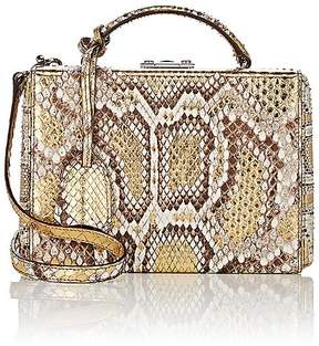 Mark Cross Women's Grace Python Small Box