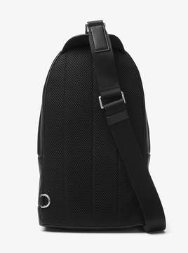 Michael Kors Odin Large Leather Sling Pack