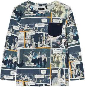 Ikks All Over Tokyo Comic Print T-Shirt