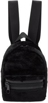 Alexander Wang Black Shearling Medium Primary Backpack