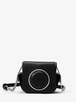 Michael Kors Scout Leather Camera Bag - BLACK - STYLE