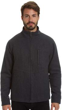 Haggar Men's Stretch Wool-Blend Open-Bottom Jacket